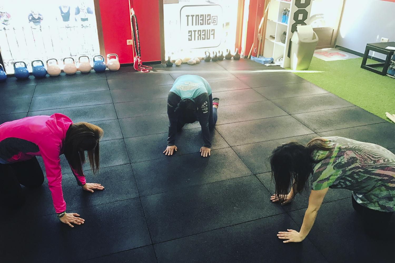 Entrenamiento Embarazadas 2 Feel Strong Sienttfuerte Sala de entrenamiento en Navalcarnero Madrid