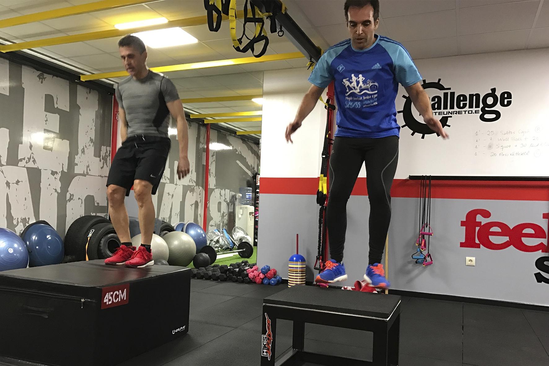 Entrenamiento Funcional 5 Feel Strong Sienttfuerte Sala de entrenamiento en Navalcarnero Madrid