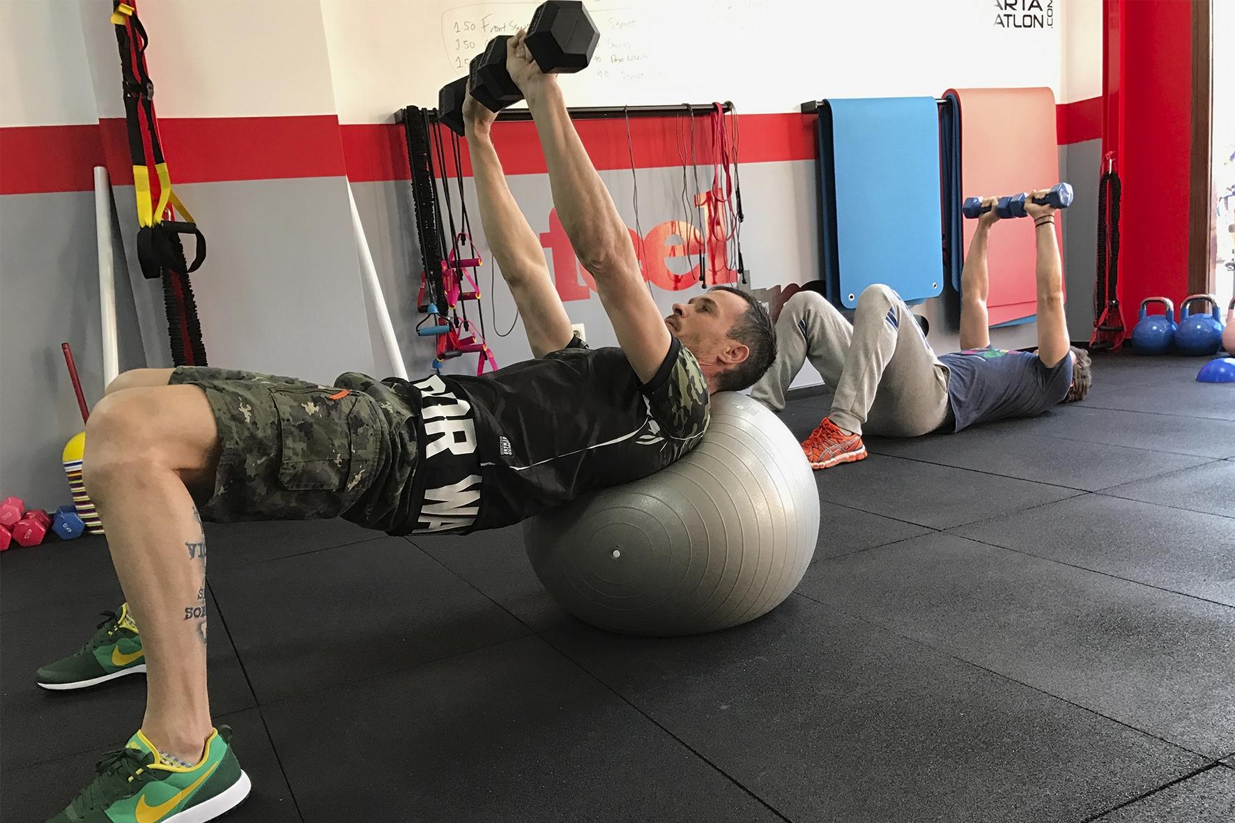 Entrenamiento Funcional 6 Feel Strong Sienttfuerte Sala de entrenamiento en Navalcarnero Madrid