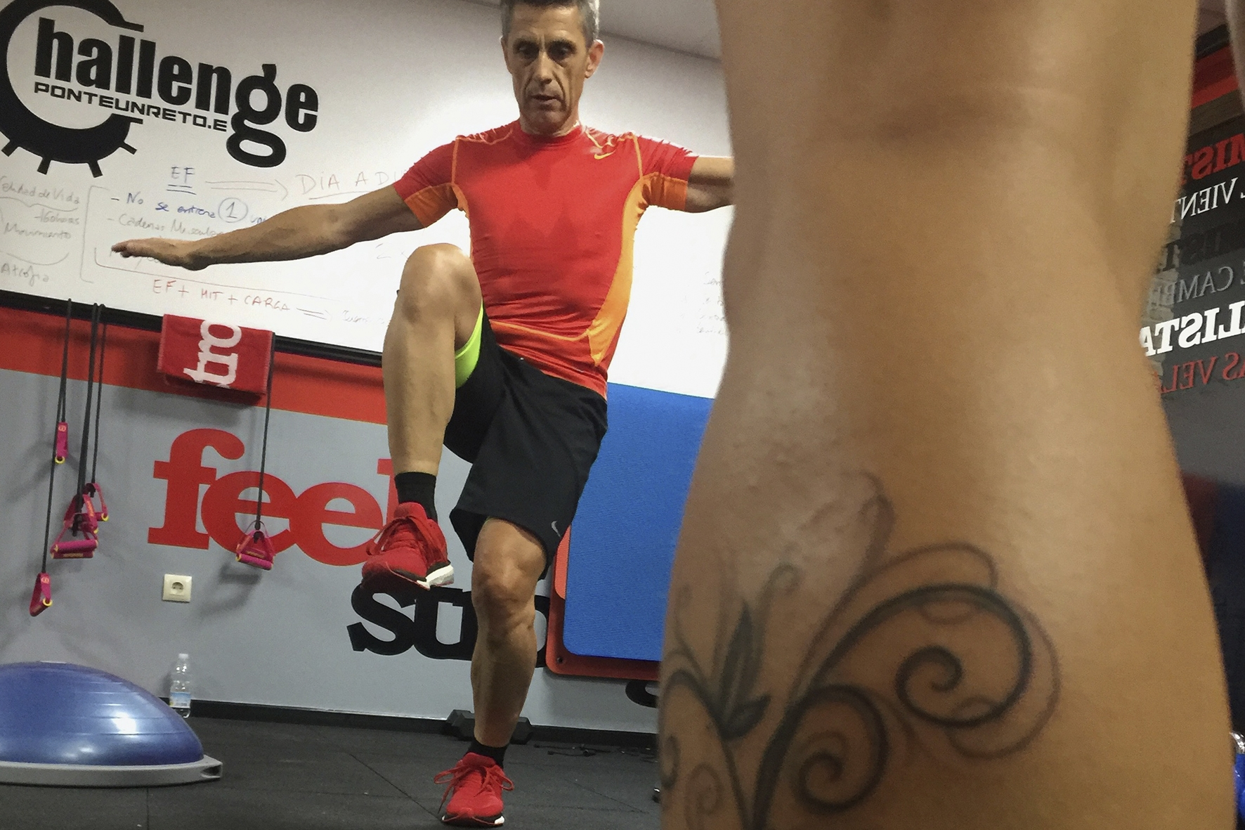 Entrenamiento Funcional 9 Feel Strong Sienttfuerte Sala de entrenamiento en Navalcarnero Madrid